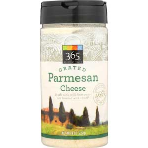 365 Everyday Value, Grated Parmesan Cheese