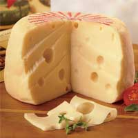 Big Baby Swiss Cheese from The Swiss Colony