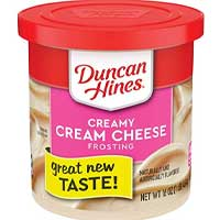 Duncan Hines Creamy Homestyle Frosting, Cream Cheese