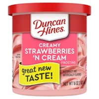 Duncan Hines Creamy Homestyle Frosting, Strawberries n' Cream