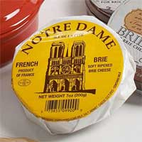 Notre Dame French Baby Brie