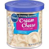 Pillsbury Creamy Supreme Frosting, Cream Cheese Flavor